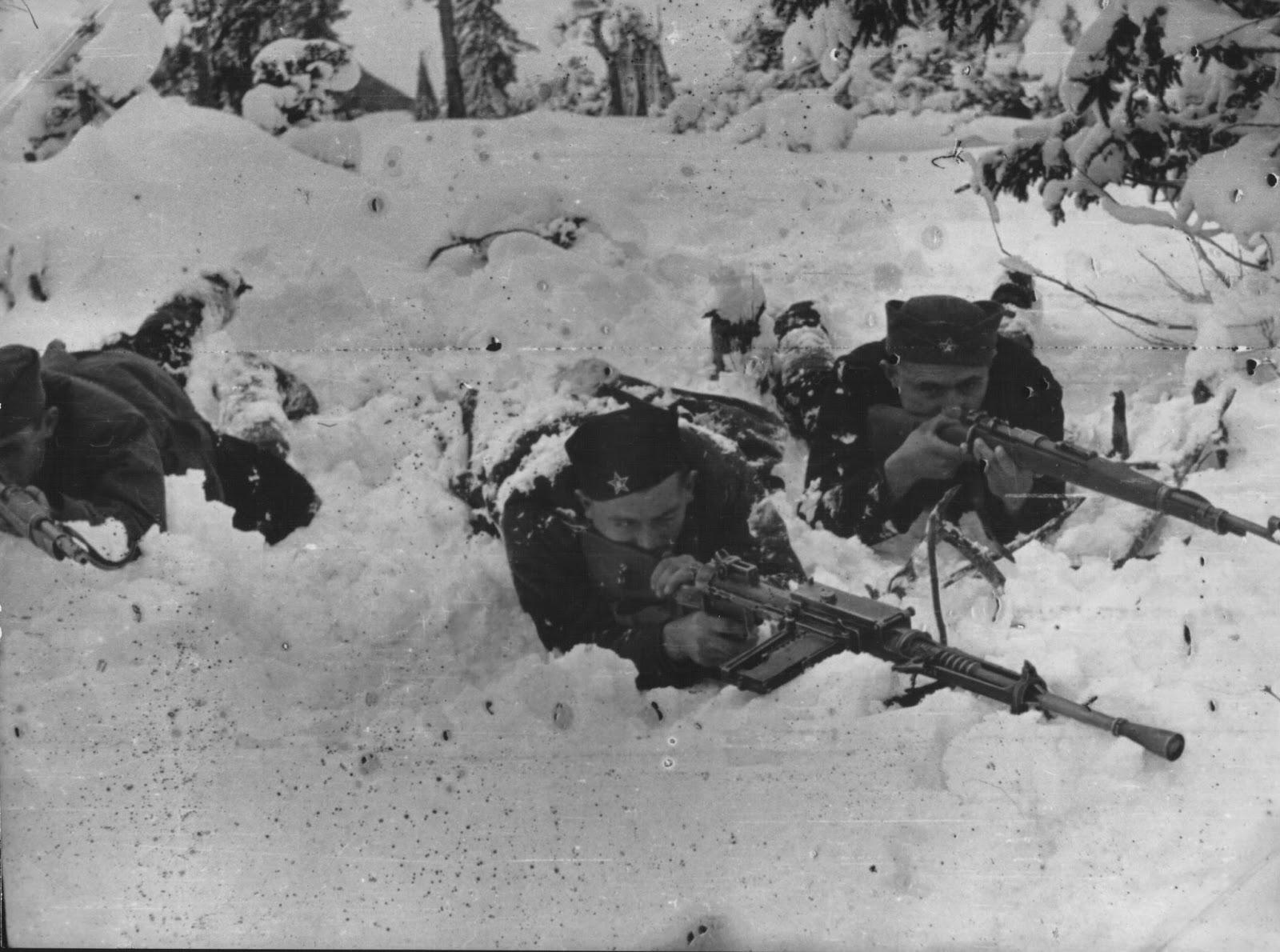 German Winter operations in Yugoslavia 1943/1944