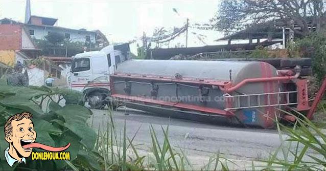 4 muertos y 17 heridos al volcarse sobre ellos una gandola en Anzoátegui