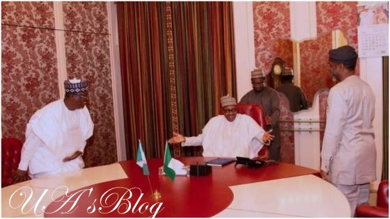 Insecurity: President Buhari In Closed-door Meeting With National Assembly Leaders