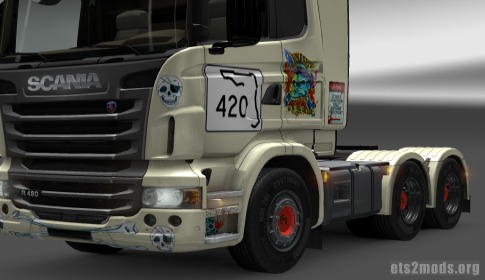 REDNECK ZOMBIES Hightop Scania skin by MCRC