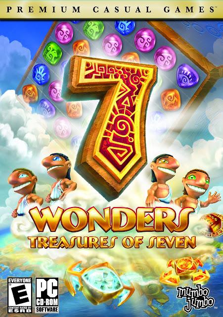7 Wonders treasures of seven - PC FULL - Portada