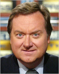 Tim Russert, NBC journalist, portrait