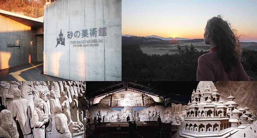 sunset japan tottori jasmin fatschild sand museum