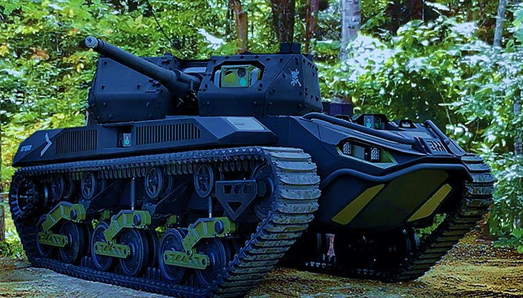 RCV-Light Robotic Combat Vehicle