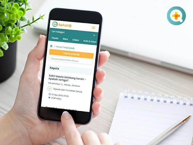 SehatQ, Aplikasi Permudah Urusan Kesehatan Kita
