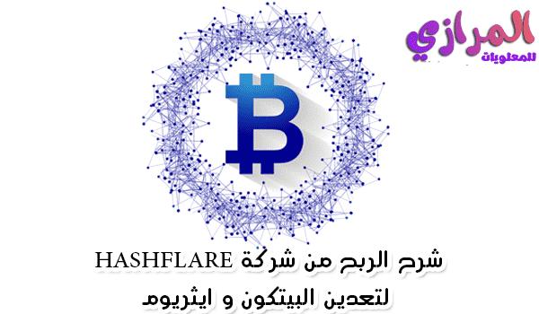 شرح الربح من شركة HashFlare لتعدين البيتكون و ايثريوم