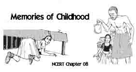 Memories of Childhood Summary Class 12 CBSE   English Vistas