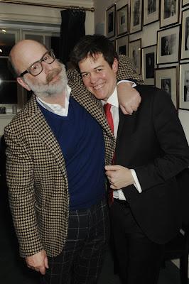 Ian Rosenblatt and James Baillieu after Tara Erraught's Rosenblatt Recital (Photo Jonathan Rose)
