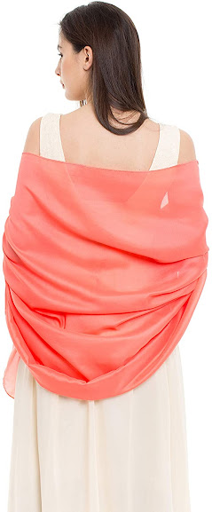 Soft Satin Shawls Wraps Scarfs for Evening Dresses
