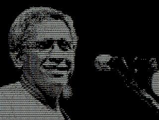 Seni ASCII Penyanyi Iwan Fals