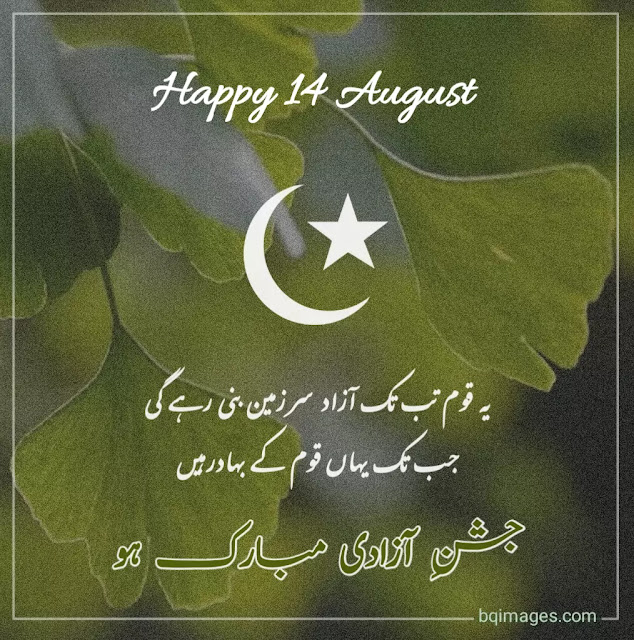 quotes about 14 august independence day in urdu