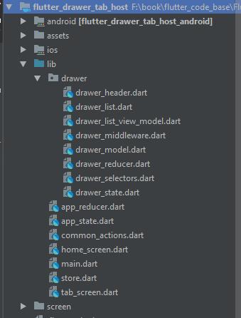 Flutter - Tab bar controller and left drawer  ~ Developer Libs