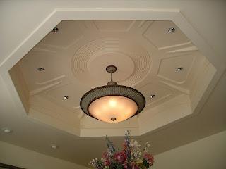 ديكورات سقف معلق
