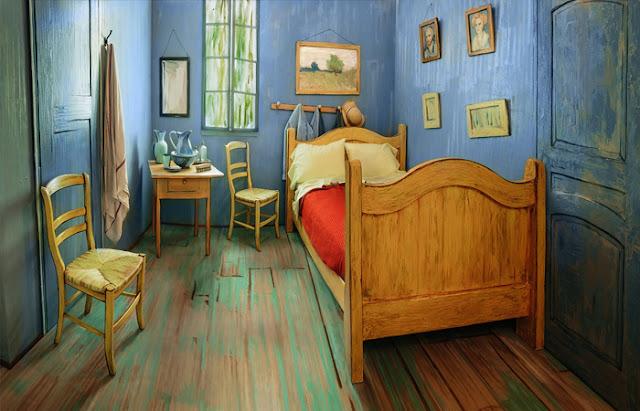 "O verdadeiro protótipo do ""Quarto"" de Van Gogh"