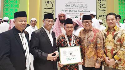 Santri Indonesia Juara III Musabaqah Hafalan Quran di Makkah