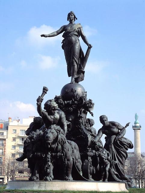 Le triomphe de la République par Dalou