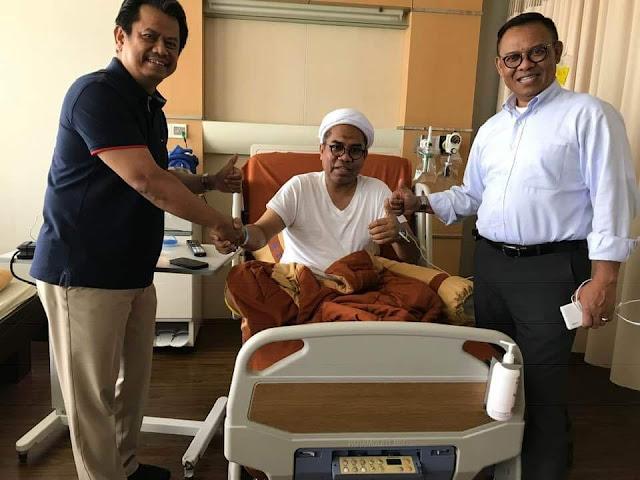 Sudah Berkantor Kembali, Ali Mochtar Ngabalin Jelaskan Penyakitnya