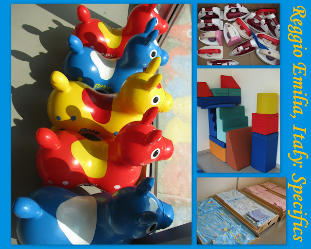 photo of: Reggio Emilia Images from Gross Motor Play space and napping cots