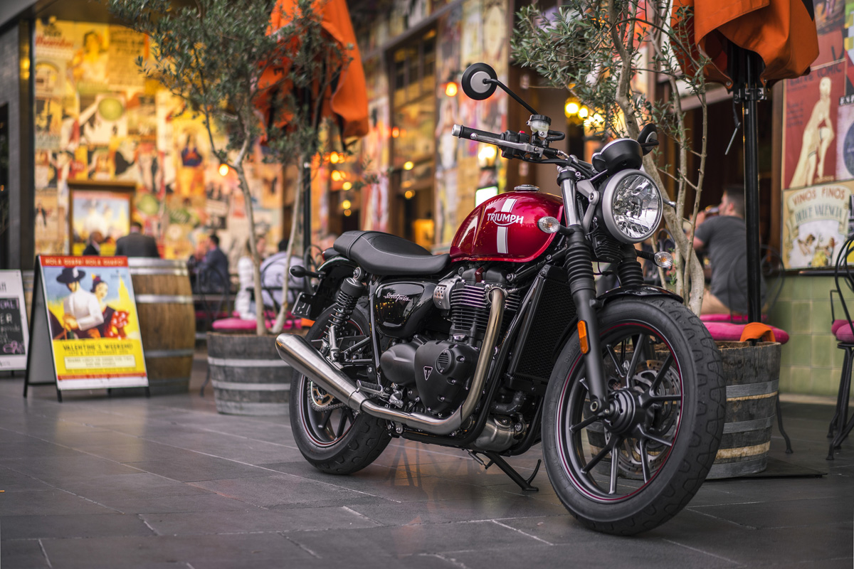 The Bonnie Has Landed Triumph Street Twin Review