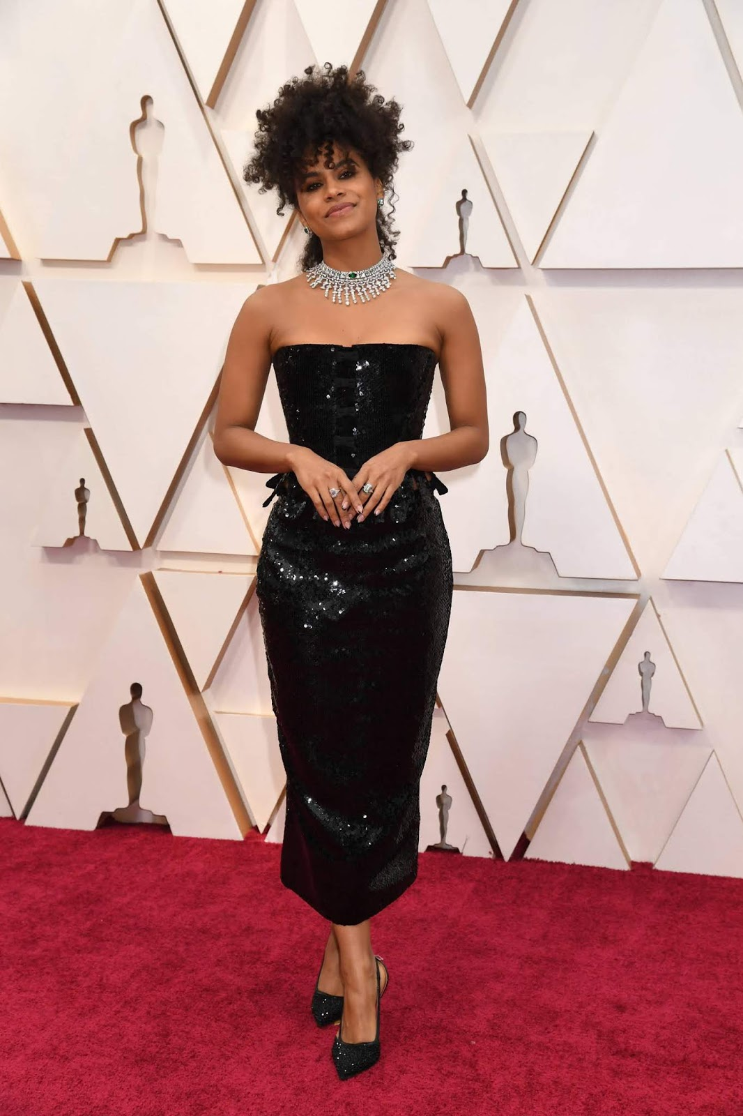 Zazie Beetz look Oscar 2020