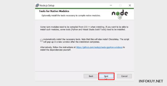 Cara Install Node.js di Window #7