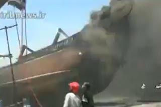 Insiden Misterius di Negara Syiah Iran Berlanjut, 7 Kapal Dekat PLTN Terbakar