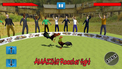 Free Downloa Farm Deadly Rooster Fighting v1 mod apk [Sabung ayam] Unlimited Money Terbaru gratis 2017.