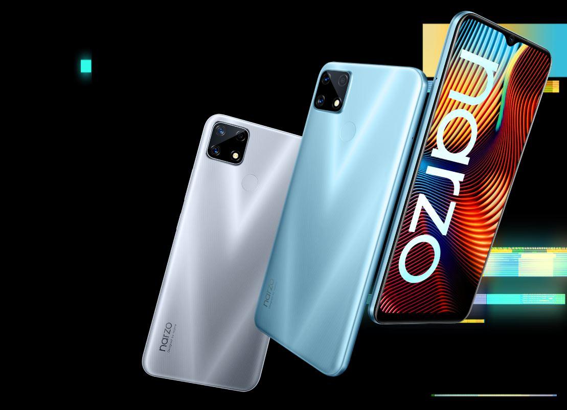 Spesifikasi dan Harga Realme Narzo 20 Bertenaga Helio G85 dan Baterai 6000mAh