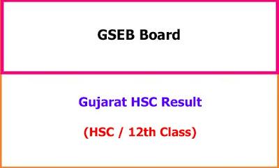 Gujarat 12th Result