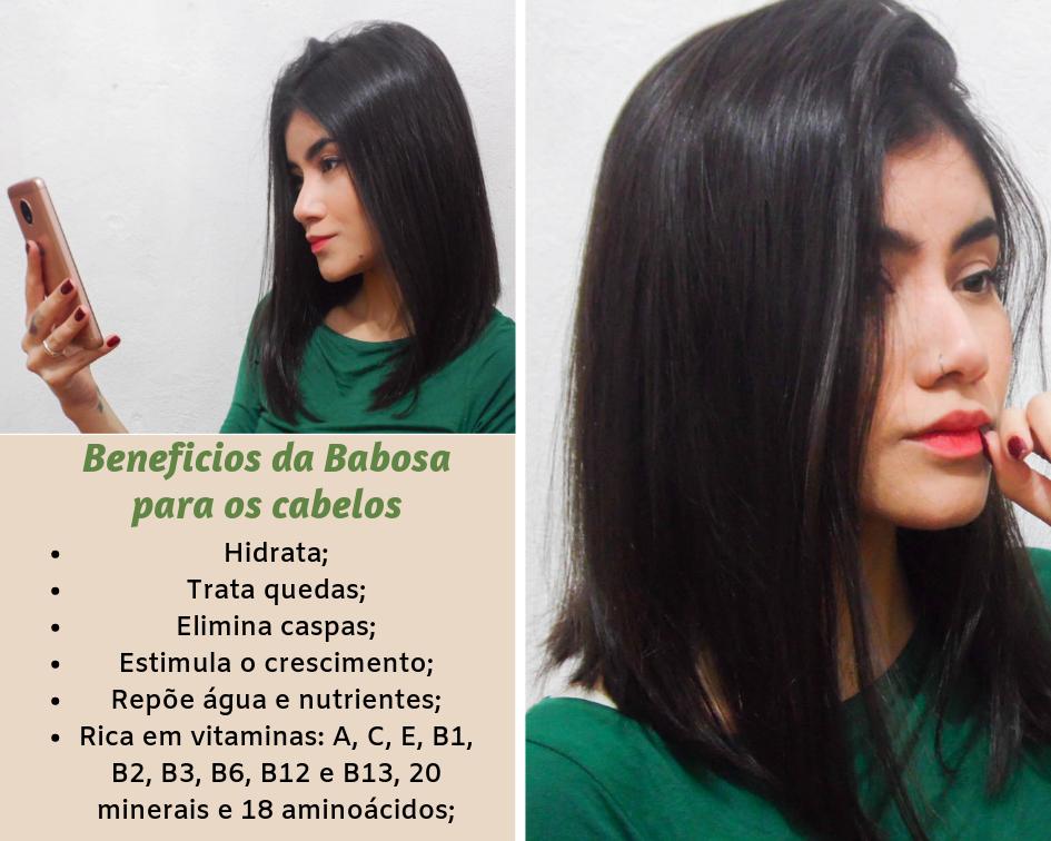 Como preparar babosa para usar nos cabelos