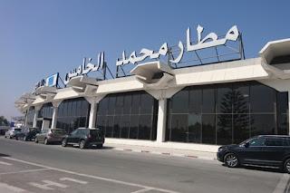 "berhilpress -  سيارات عالقة بسبب كورونا تنتظر ""الإفراج"" في مطار محمد الخامس  -  برحيل بريس"