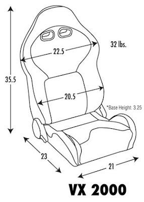 car racing seat