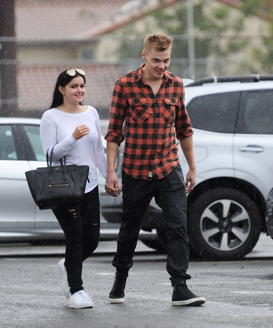 Ariel Winter & New Boyfriend Levi Meaden – Out in Studio City