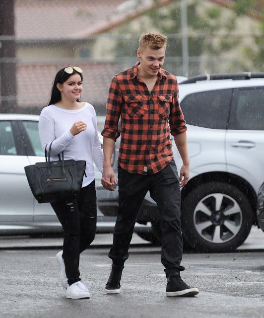 Ariel Winter & New Boyfriend Levi Meaden – Out in Studio City