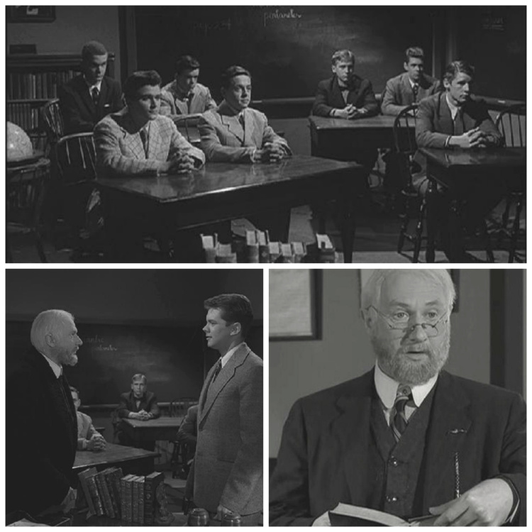 A Vintage Nerd, Vintage Blog, Twilight Zone, Twilight Zone Inspiration, Classic TV Show, Twilight Zone Changing of the Guard, Donald Pleasence