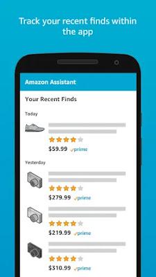 Screenshot Amazon Assistant