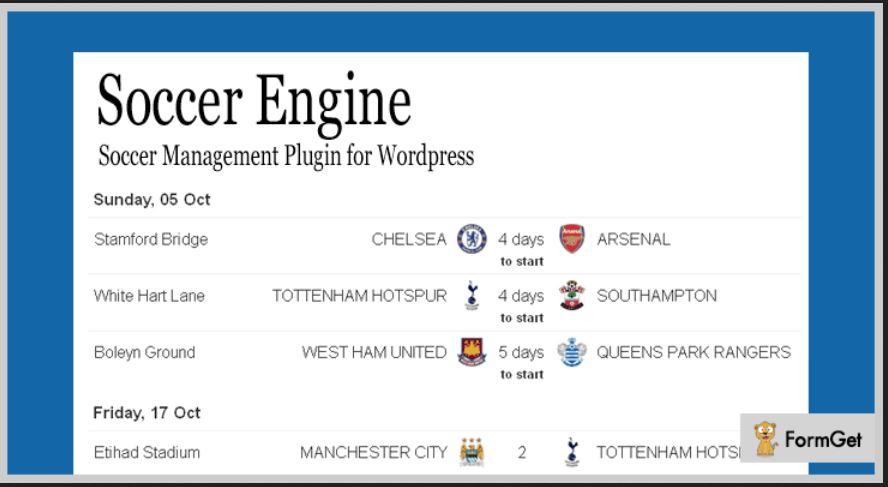 Paid WordPress Sports Plugins