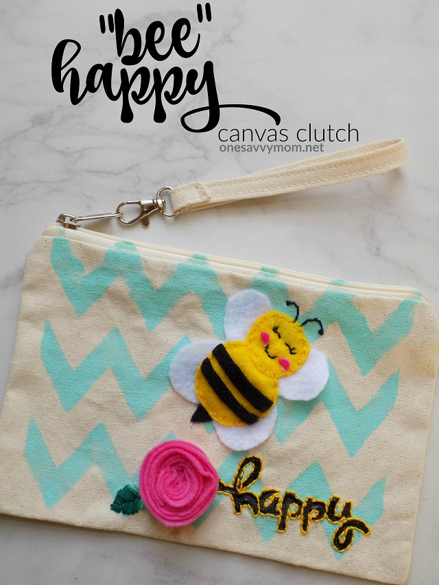 http://www.onesavvymom.net/2018/04/bee-happy-canvas-clutch-kids-sewing-series-tutorial-how-to.html