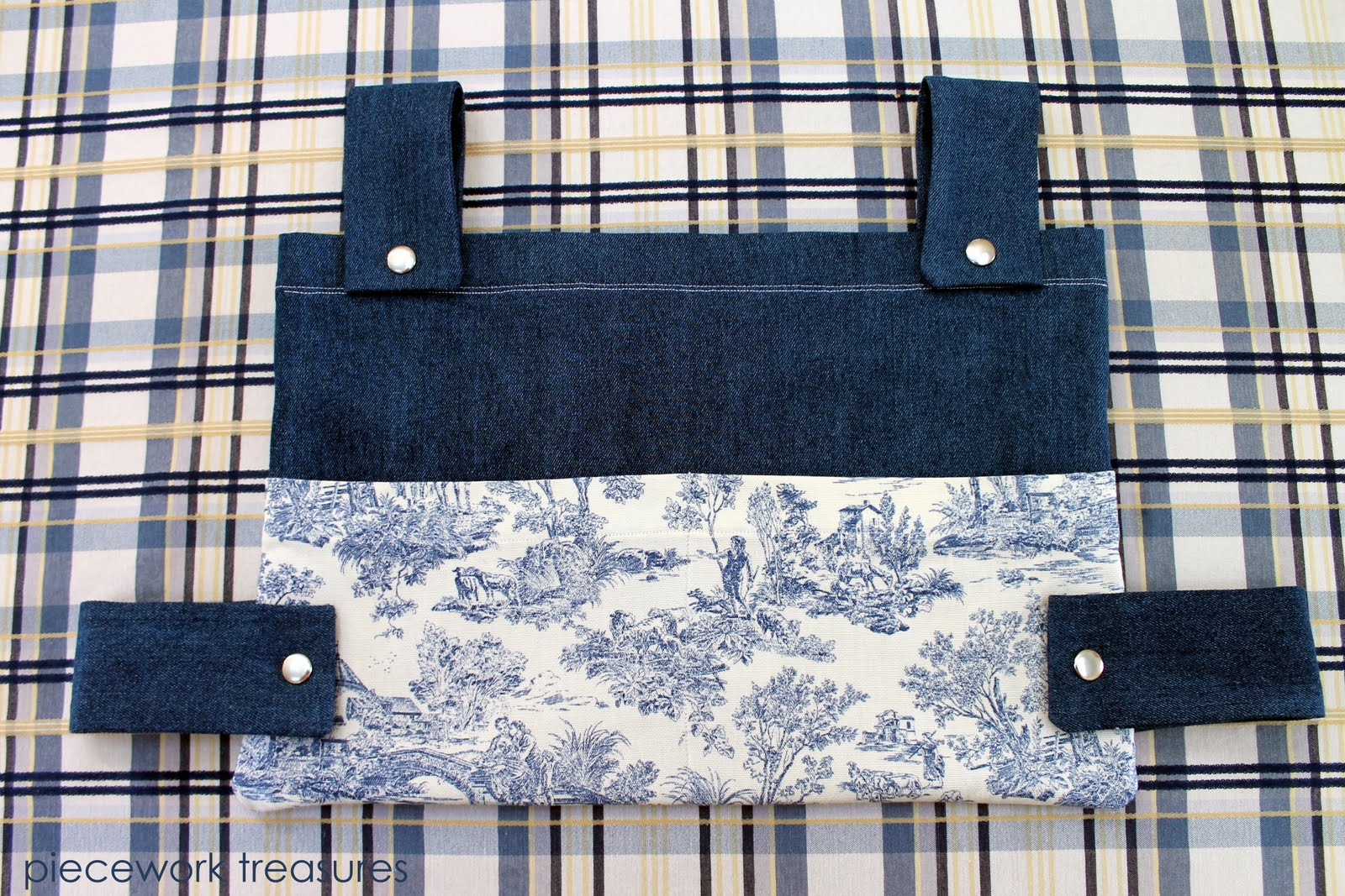 Laura S Hall Of Fame Included My First Walker Bag And There Are Also Photos Others This Is What I Came Up With Denim Toile A Great