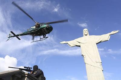 Rio pede Exército nas ruas durante Olimpíada