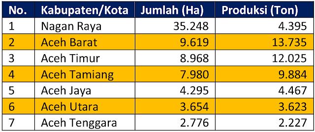 Komoditi Karet di Aceh