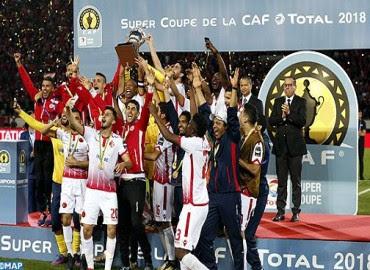 La Super coupe de la CAF s'ajoute au Palmarès du WAC