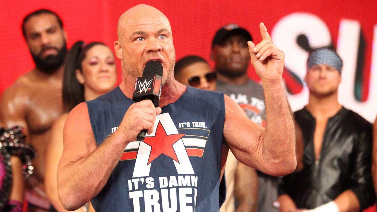 Kurt Angle diz que Vince McMahon adora confundir e irritar os fãs