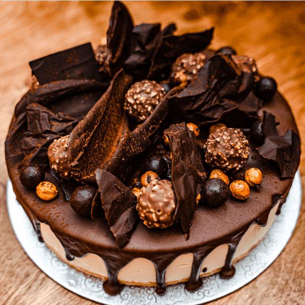 Ferraro Rocher Chocolate Cheesecake
