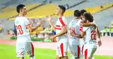 """مباراة الزمالك """"Zamalek"""" مع  وديكاداها أبطال إفريقيا شيء غريب"""
