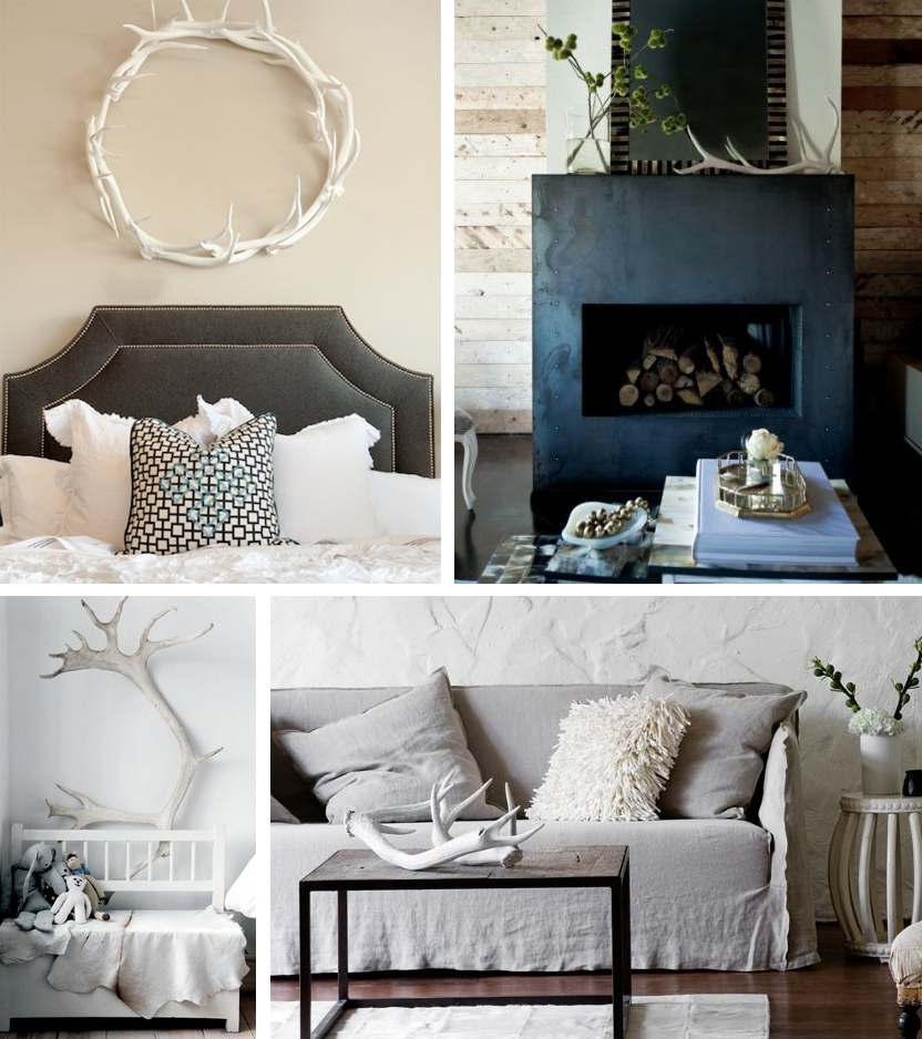 The How To Gal Antlers In Home Decor