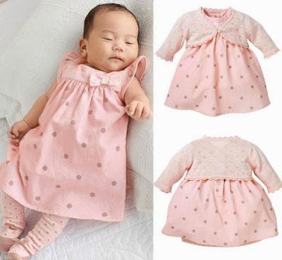Model Baju Bayi Perempuan cantik
