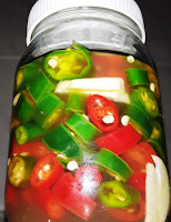 THAI CHILI PEPPERS IN VINEGAR