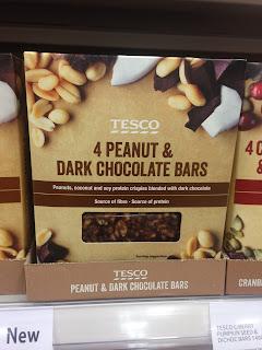 Tesco Peanut & Dark Chocolate Bars