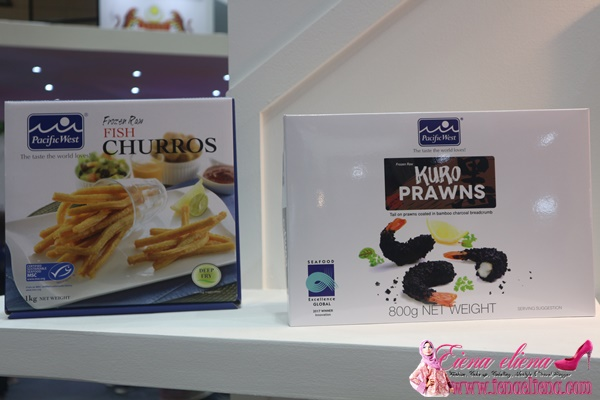 Kuro Prawn dan Churros dari Golden Fresh